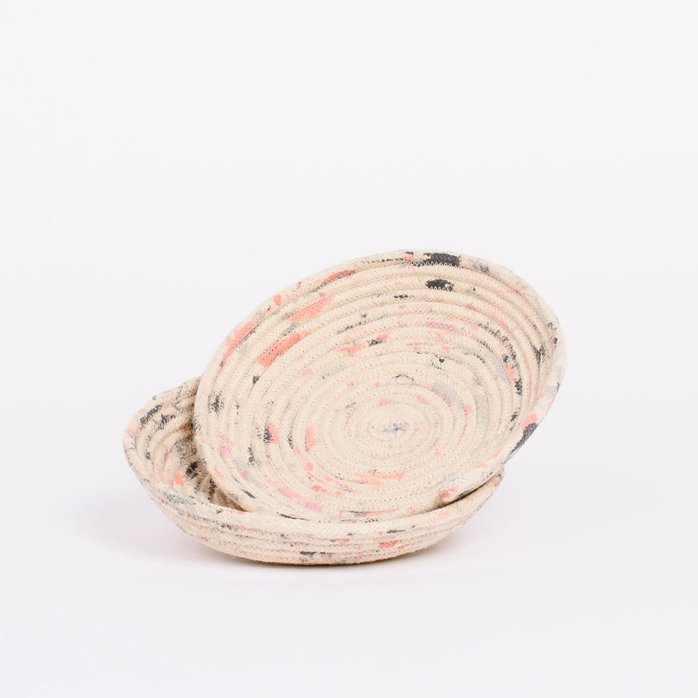 Image of HAND MADE & HAND PAINTED ROPE VESSEL ORIGINAL SERIES SMALL