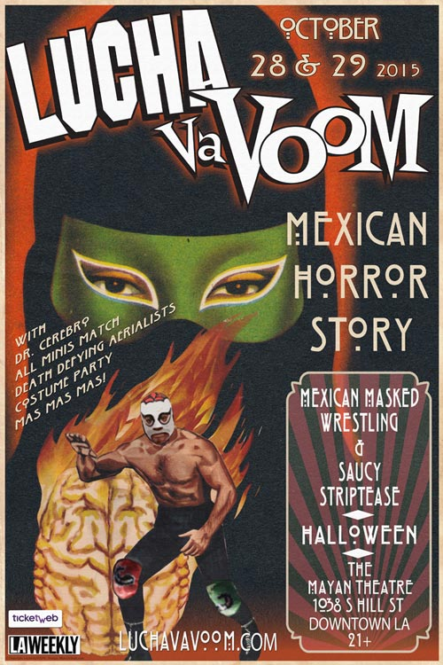 Image of Mexican Horror Story Poster