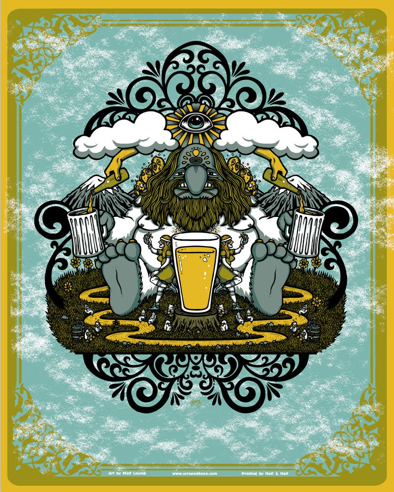 "Image of ""Beer Monger"" art print"