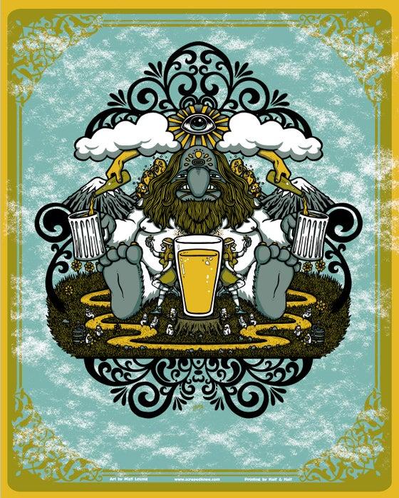 "Image of ""Beer Monger"" art print"