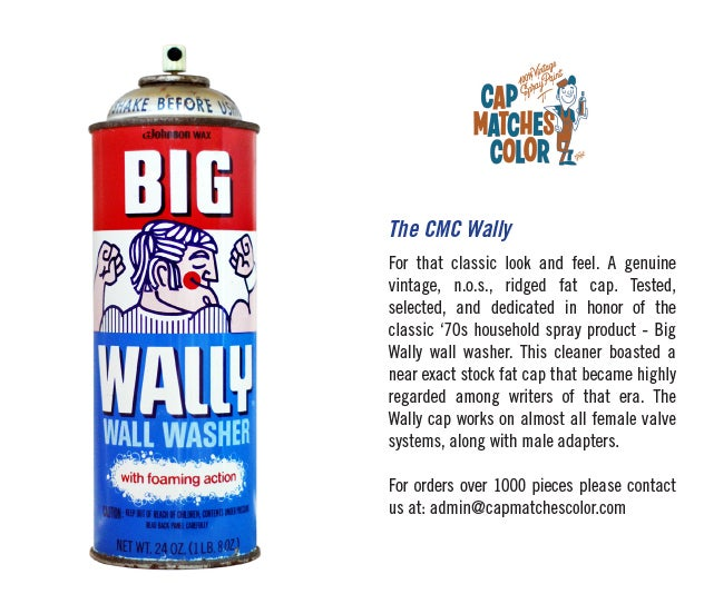 Image of  CMC Jiffy and Wally; Vintage Spray Heads