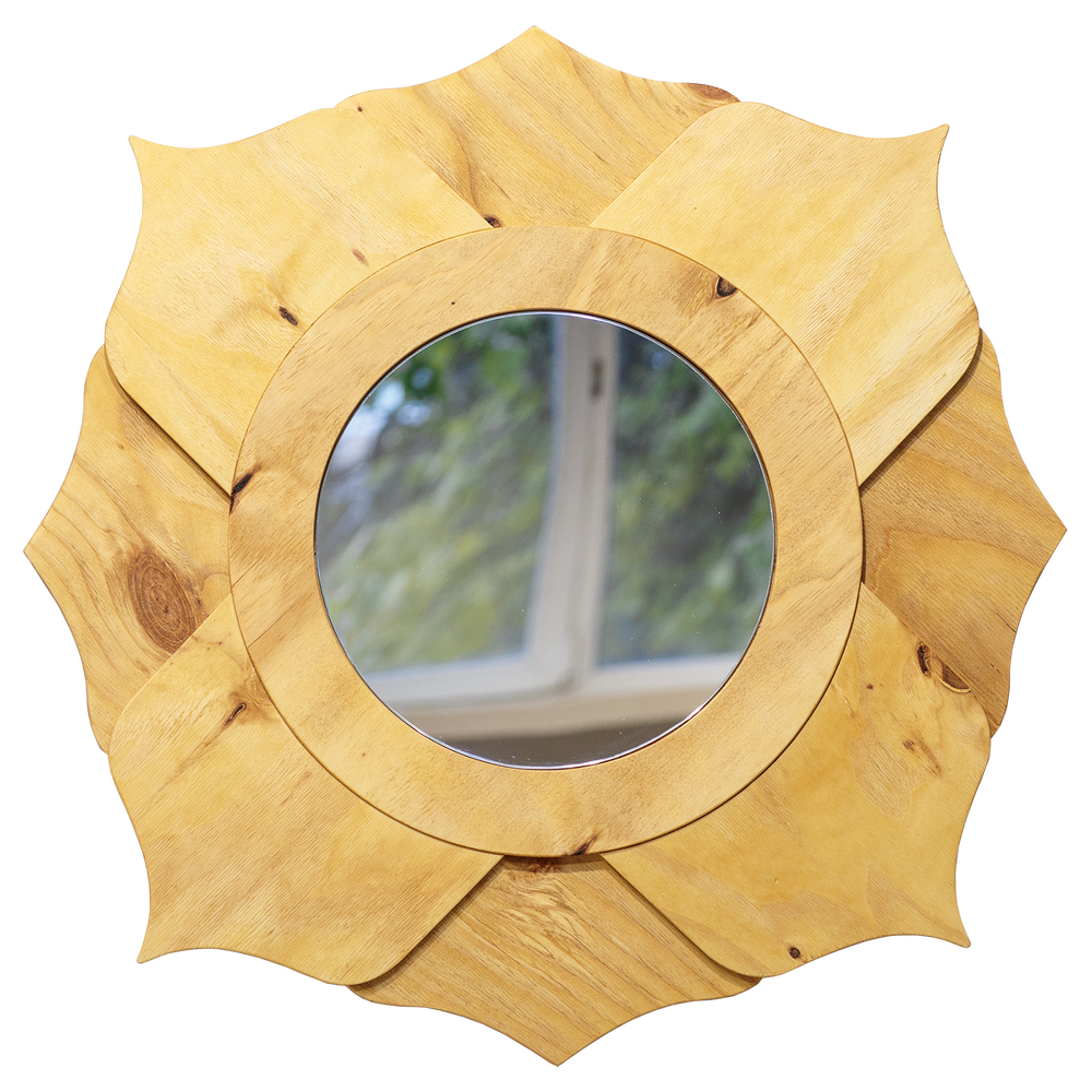 Image of Flower mirror