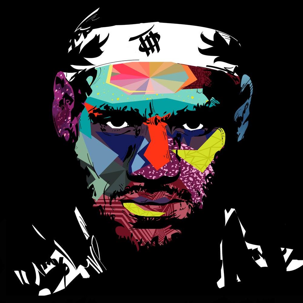 Image of LeBron MVP Art Print