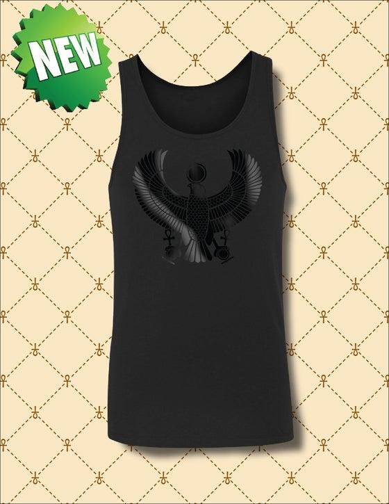 Image of MEN'S BLACK FOIL HRU  TANK TOP