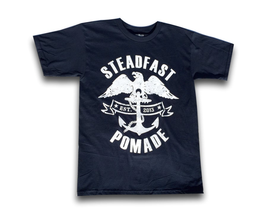 Image of Steadfast Eagle & Anchor Tee