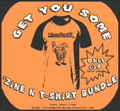Image of 'Zine n t-shirt Bundle