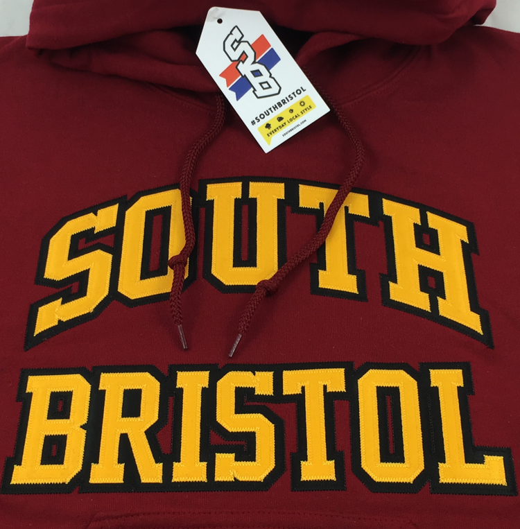 Image of Classic Hoodie (Dark Red & Yellow)