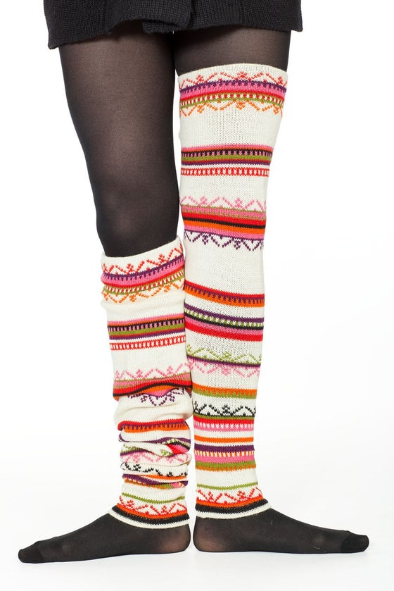 Image of WOOLEN LEG-WARMERS