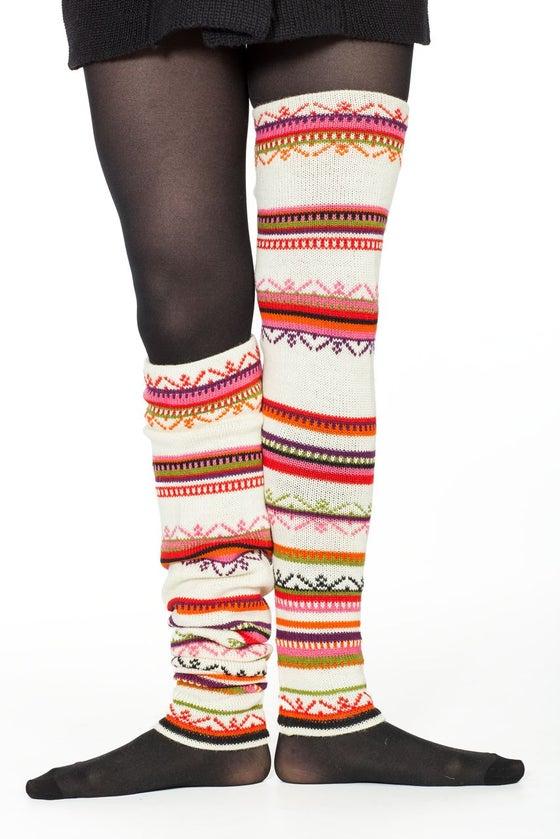 Image of WOOLEN LEG-WARMERS