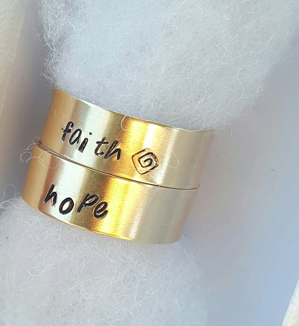 Image of Take What You Need Rings