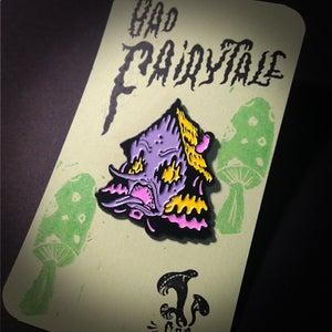 "Image of ""Bad Fairytale"" Malady Manor Enamel Pin"
