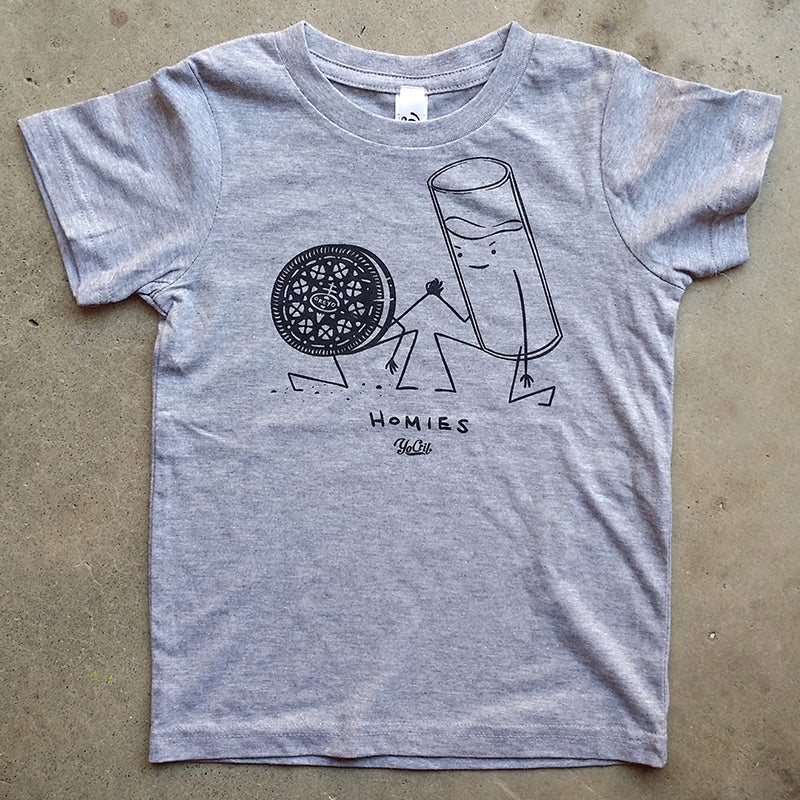 Image of 'Homies' t-shirt (grey)