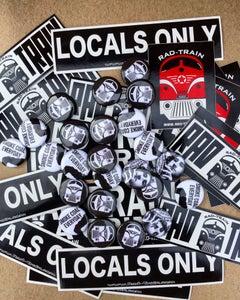 Image of Rad Train Sticker Packs