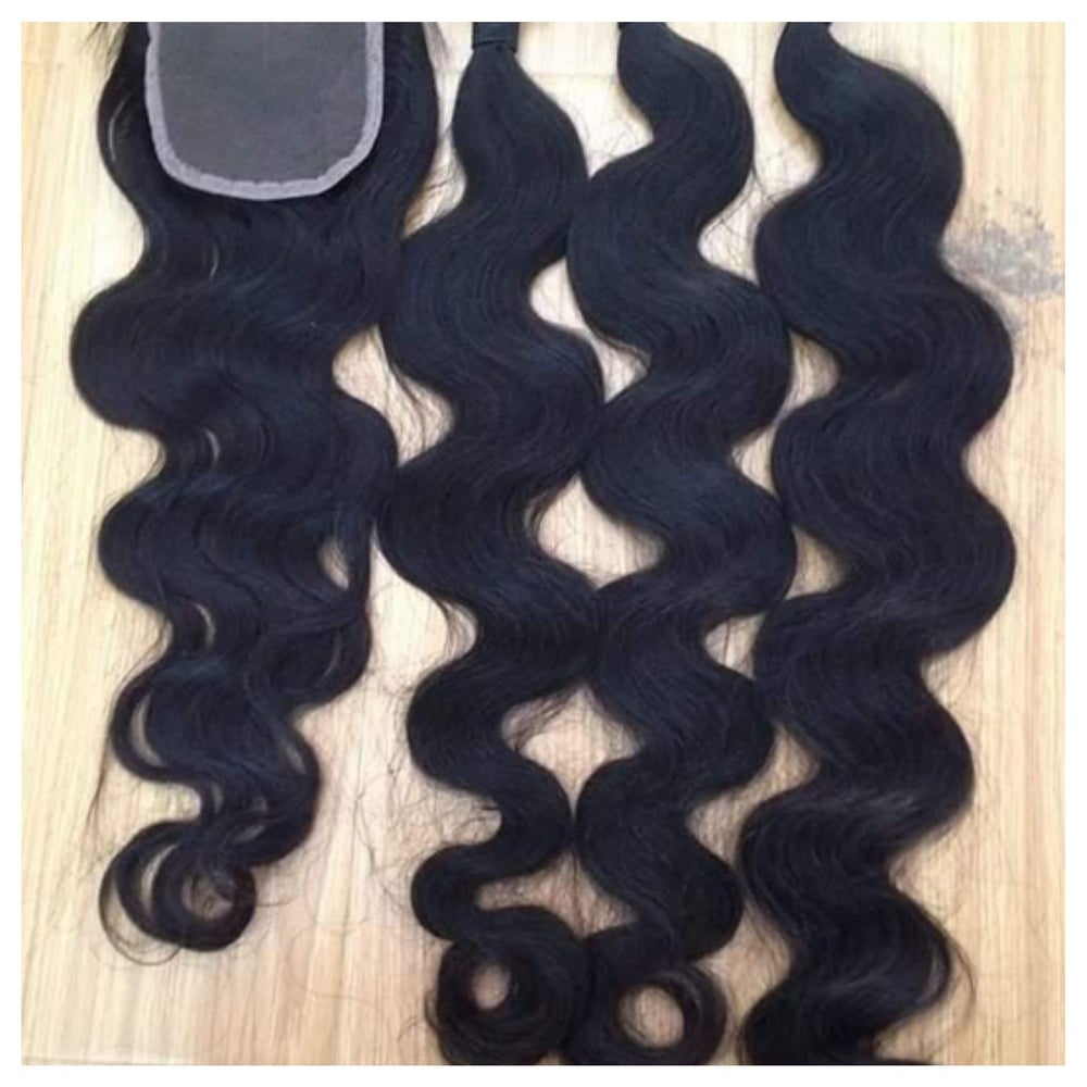 Image of U GOTTA HAVE VIRGIN HAIR (12 inch or 14 inch) UNPROCESSED 7A GRADE BUNDLE