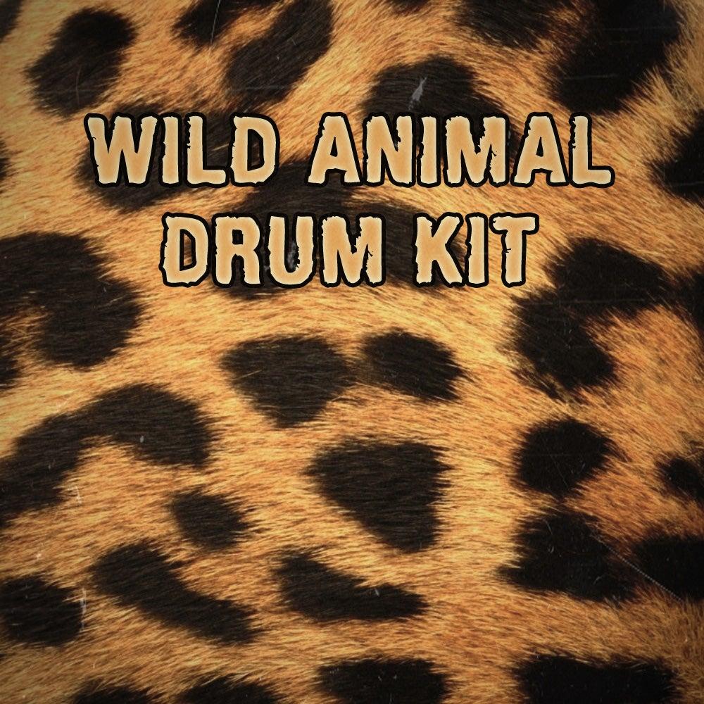 Image of WILD ANIMAL Drum Kit