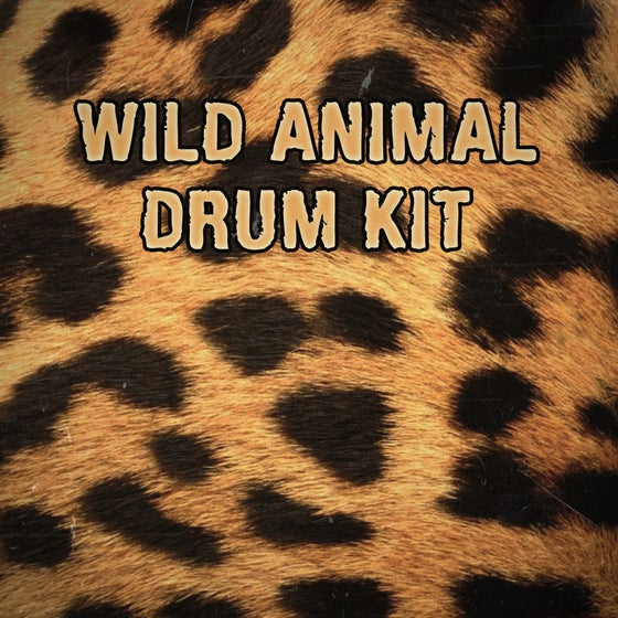 Image of WILD ANIMAL Drum Kit