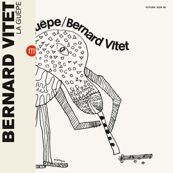 Image of BERNARD VITET - LA GUEPE (FFL010/SON05 - white)
