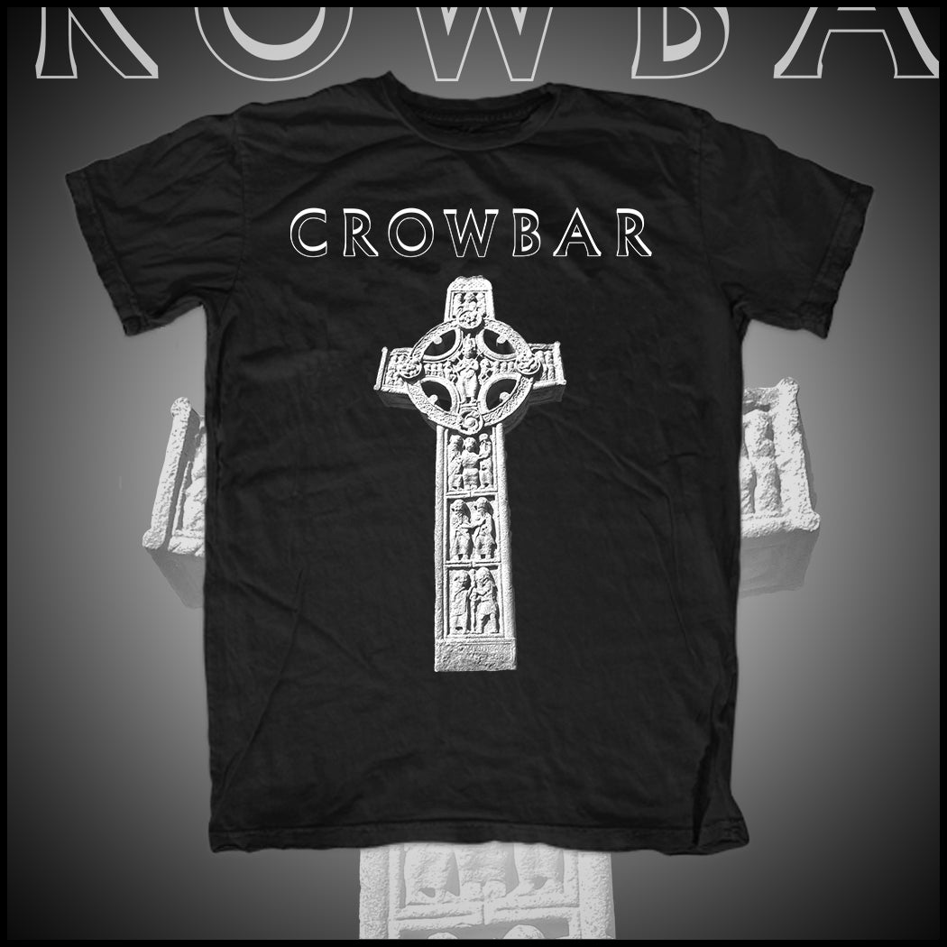 "Image of CROWBAR ""CROSS' T-SHIRT"