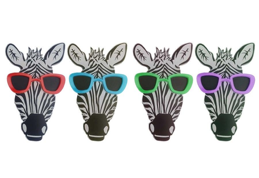 Image of Zebra Badge