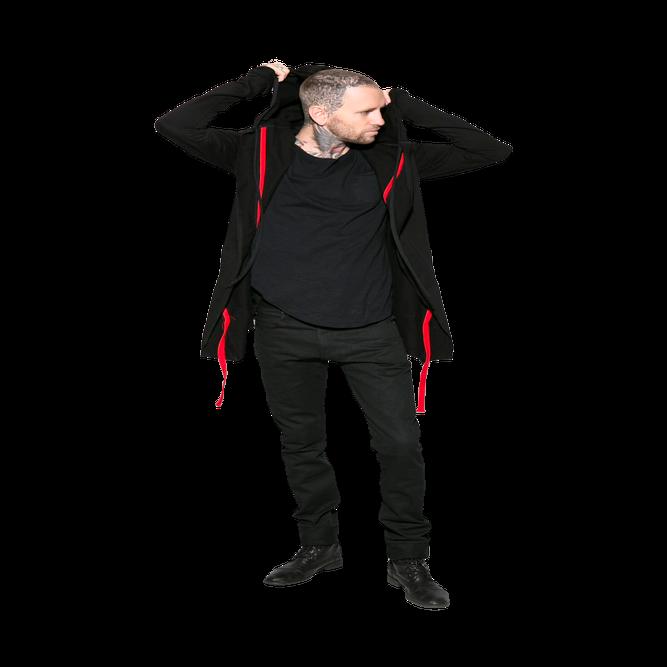 Image of Vlad - Raw Unisex hoodie