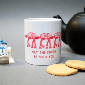 Image of 'May the Forth be with you' Mug