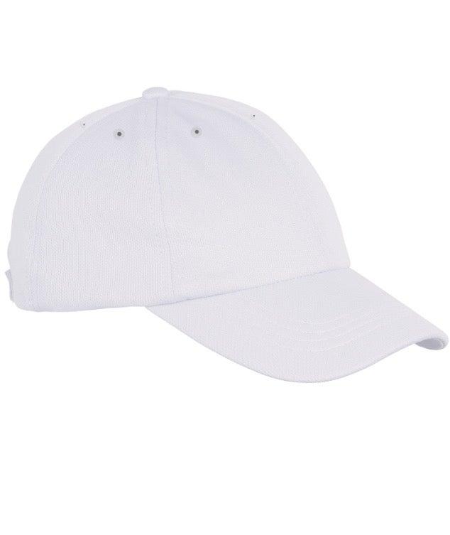 Image of 6 PANEL CAP // PURE WHITE