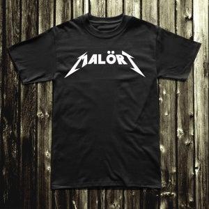 Image of Malört™ Metal Tee - Black