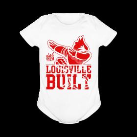 Image of Louisville Built - Infant -White Onesie