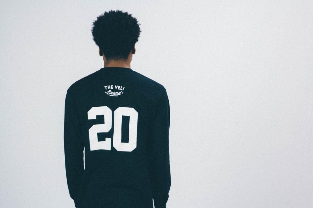 Image of Black Veli Brand Shirt (Long Sleeve)