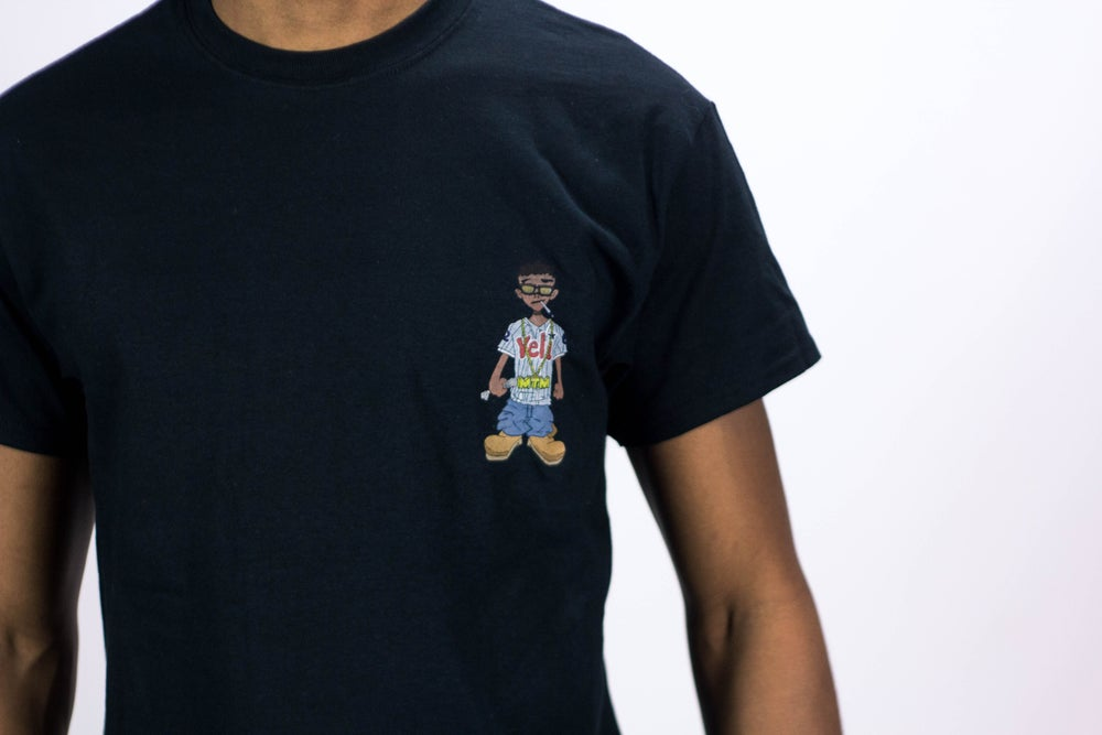 Image of Black Veli Brand Shirt (Short Sleeve)