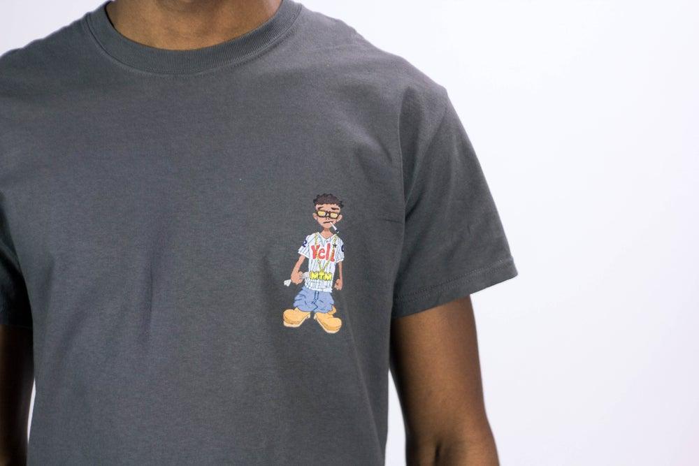 Image of Charcoal Grey Veli Brand Shirt (Short Sleeve)