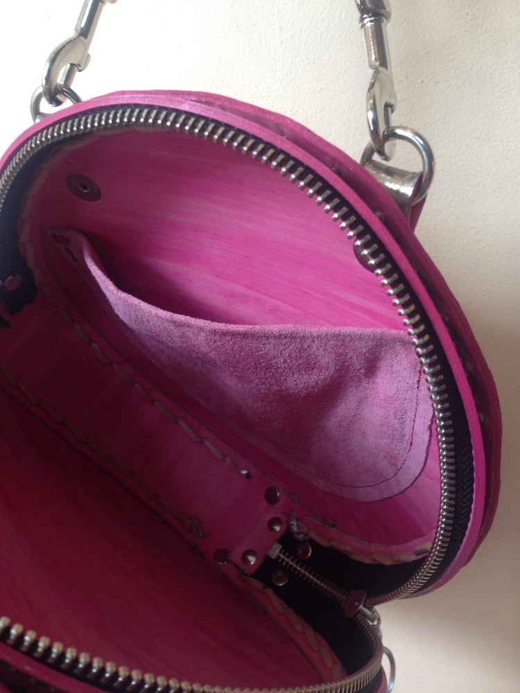 Image of Tambourine cross body/ clutch in pewter