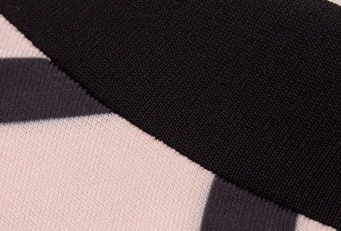 Image of FASHION TWO PIECE PLAID DRESS