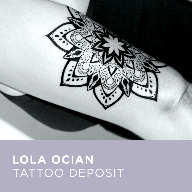 Image of Tattoo Deposit for Lola Ocian
