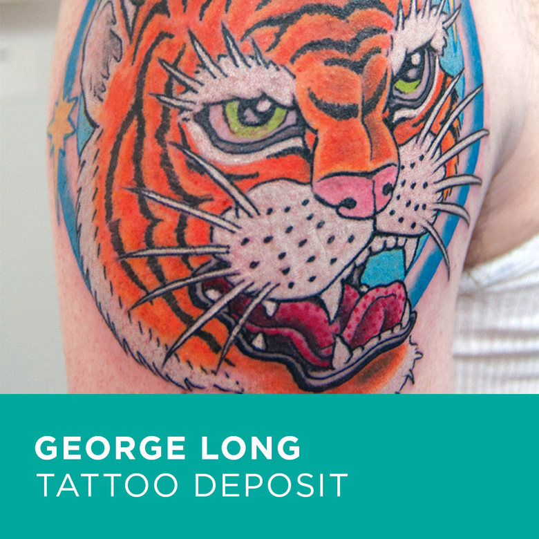 Image of Tattoo Deposit for George Long