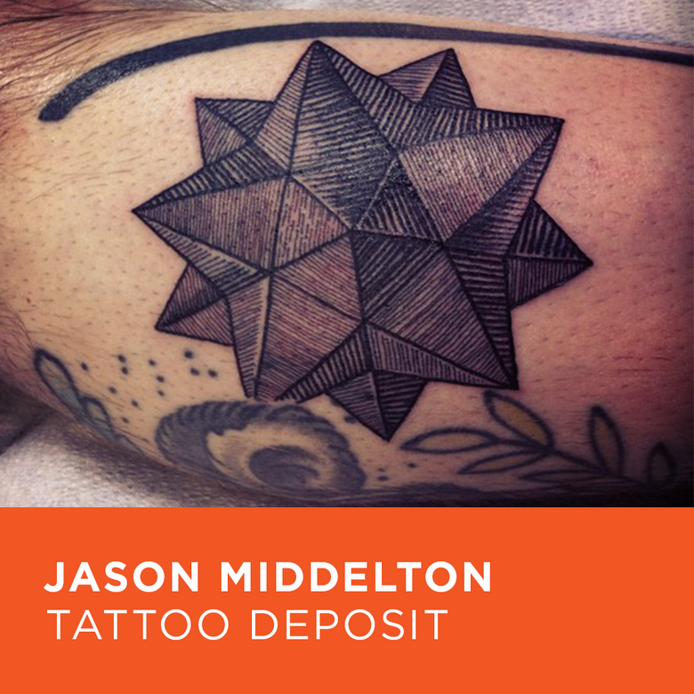 Image of Tattoo Deposit for Jason Middelton