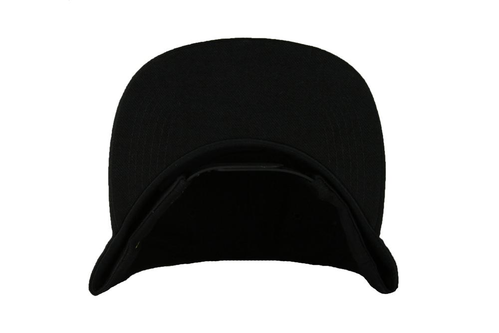 Image of The GL Leaf Snapback Hat in Black