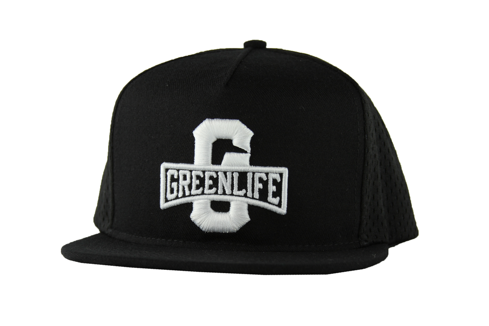 Image of The GreenLife Worldwide Snapback Hat in Black