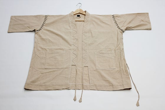 Image of UNDYED JINBEI OVERTHROW