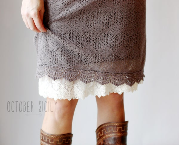 Image of Half Slip Lace Extender,  *Style 3*