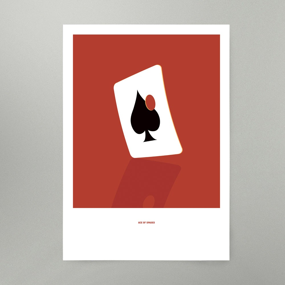 Image of Ace of Spades Art Print