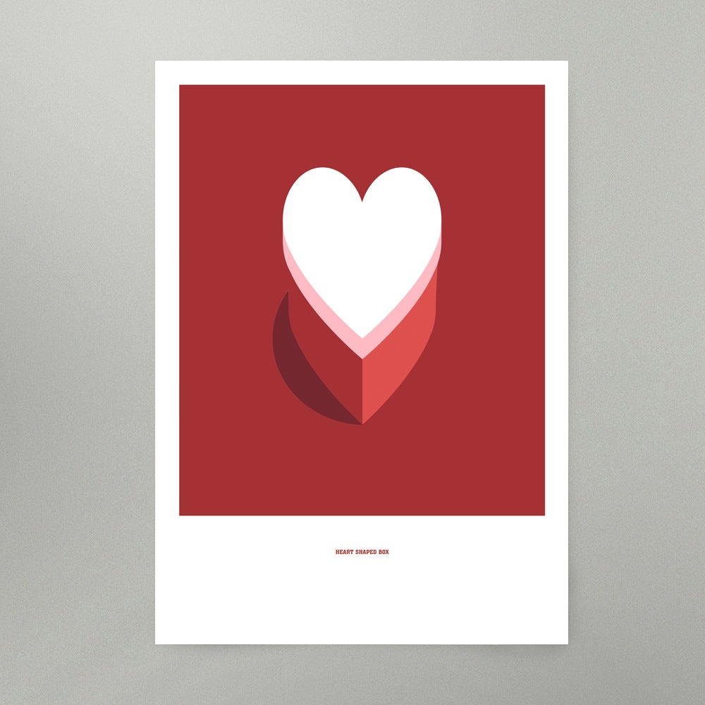Image of Heart Shaped Box Art Print
