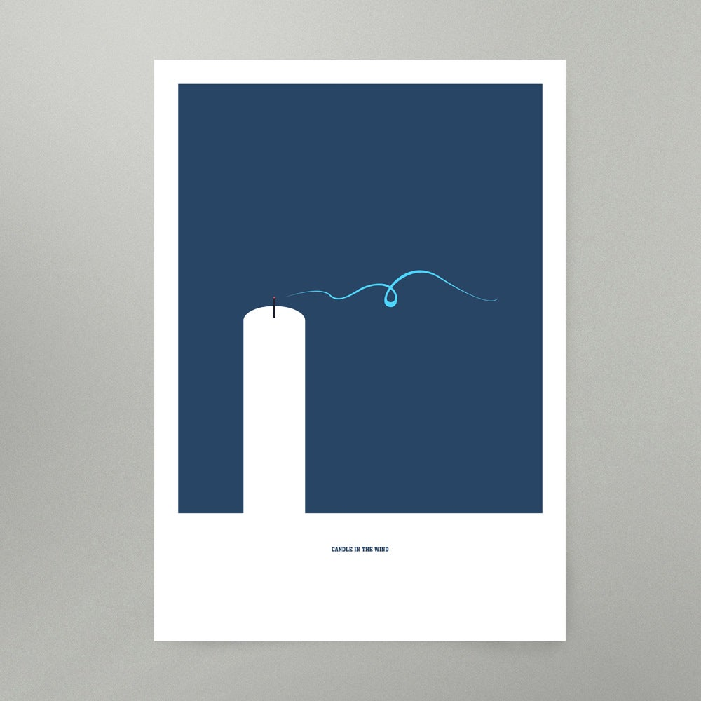Image of Candle In The Wind Art Print