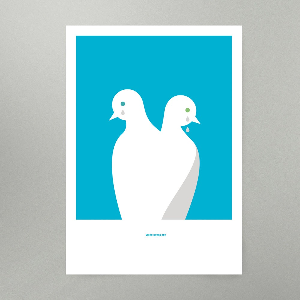 Image of When Doves Cry Art Print