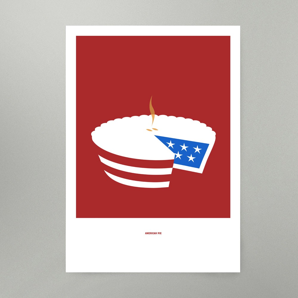 Image of American Pie Art Print
