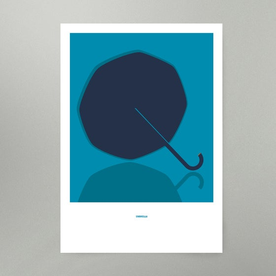 Image of Umbrella Art Print