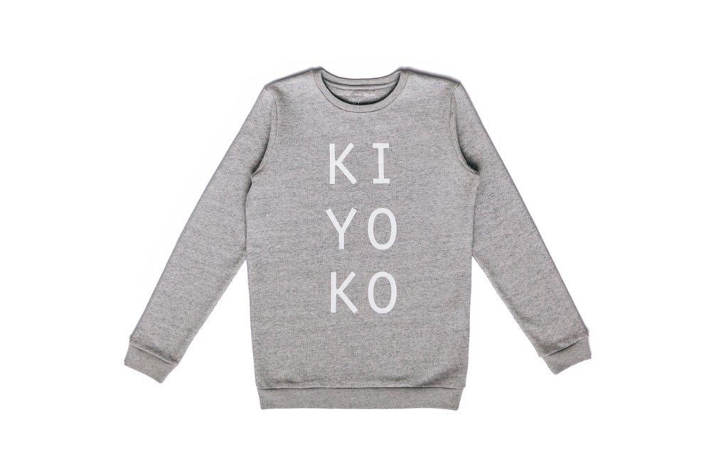 Image of kiyoko logo sweater