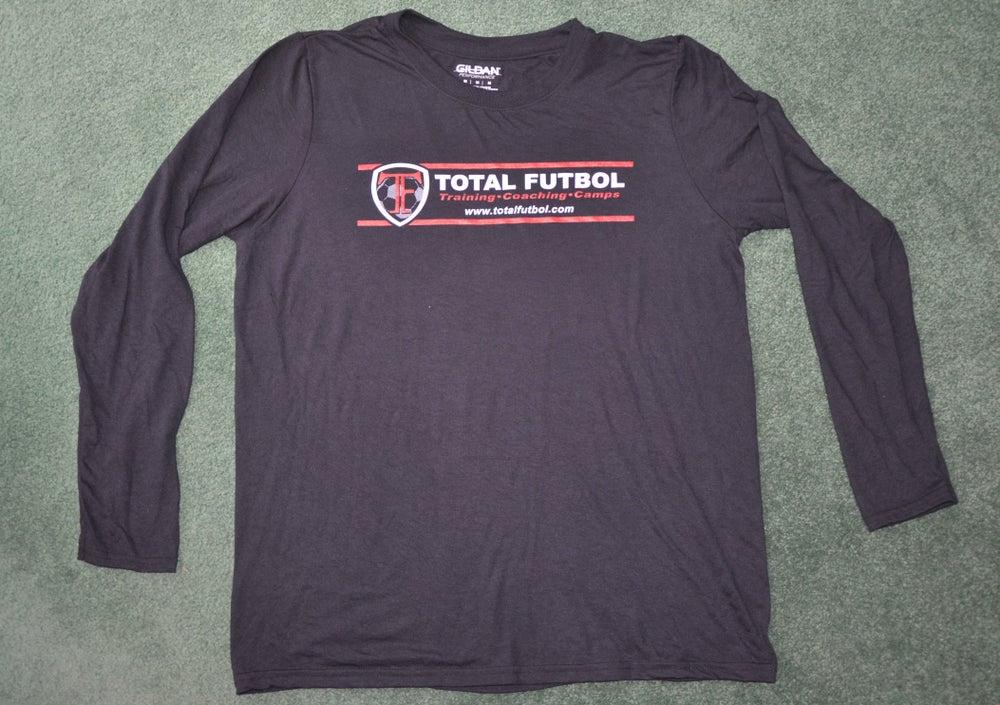 Image of Black Long-Sleeve TF Training Shirt