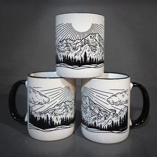 "Image of ""Spirits of Rainier"" Mug"