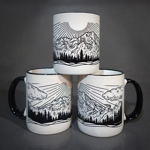 "Image of ""Spirits of Rainier"" Mug"